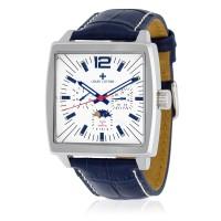 Montre Louis Cottier Panam Blanc Bracelet Cuir - HB3030C2BC3