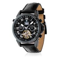 Montre Louis Cottier Vision Noir Bracelet Cuir - HB3321C1BC1