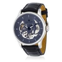 Montre Louis Cottier Villevy Gris Bracelet Cuir - HB3820C7BC1