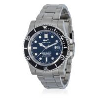 Montre Louis Cottier Aqua Diving Noir Bracelet Métal - HB3840C1BM1