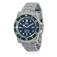 Montre Louis Cottier Aqua Diving Noir Bracelet Métal - HB3840vC1BM1