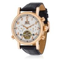 Montre Louis Cottier Bomer Blanc Bracelet Cuir - HF3703C2rBC1