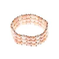 """Bracelet argent et perles de culture multicolores """"Princess5"""""""