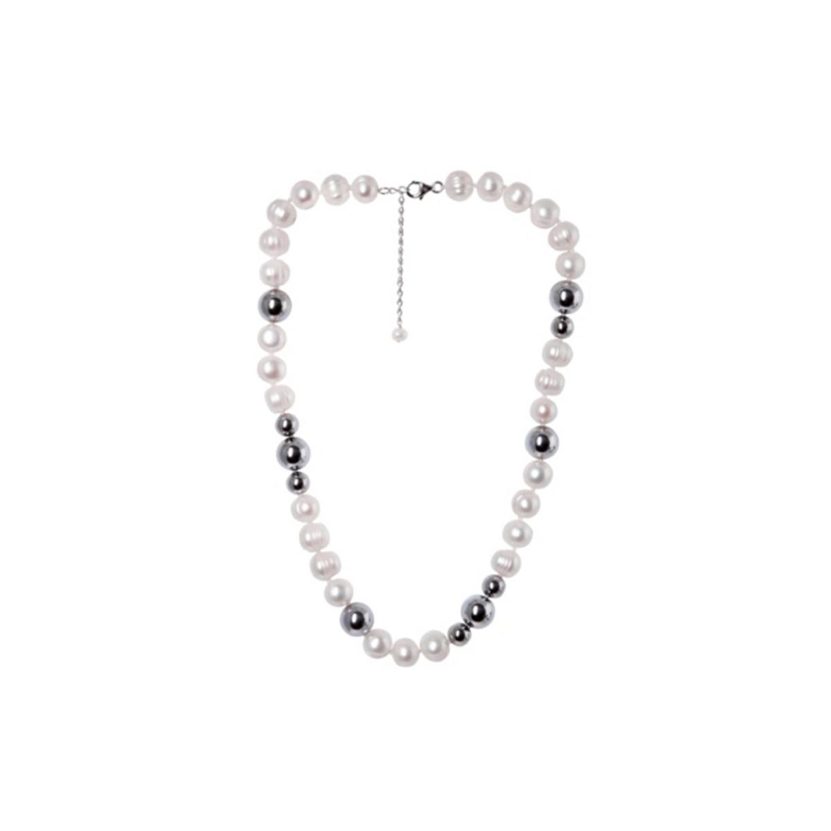 collier perle blanche de culture