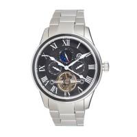 """Montre Chronowatch """"Lanchester"""" Automatique Noir Bracelet Métal - HB5140C1BM1"""