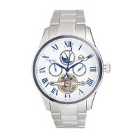 Montre Chronowatch Lanchester Blanc Bracelet Métal - HB5140C2BM1
