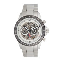 Montre Chronowatch Weapon Blanc Bracelet Métal - HB5150C2BM1