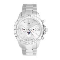 Montre Chronowatch Micromatic Argenté Bracelet Métal - HB5160aC2BM1