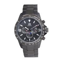 Montre Chronowatch Micromatic Noir Bracelet Métal - HB5161C1BM2