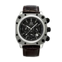 Montre Chronowatch Airzone Ii Noir Bracelet Cuir - HW5180C1BC2