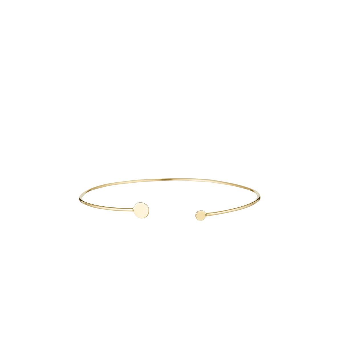 """Bracelet or jaune """"Cercle d'or"""""""