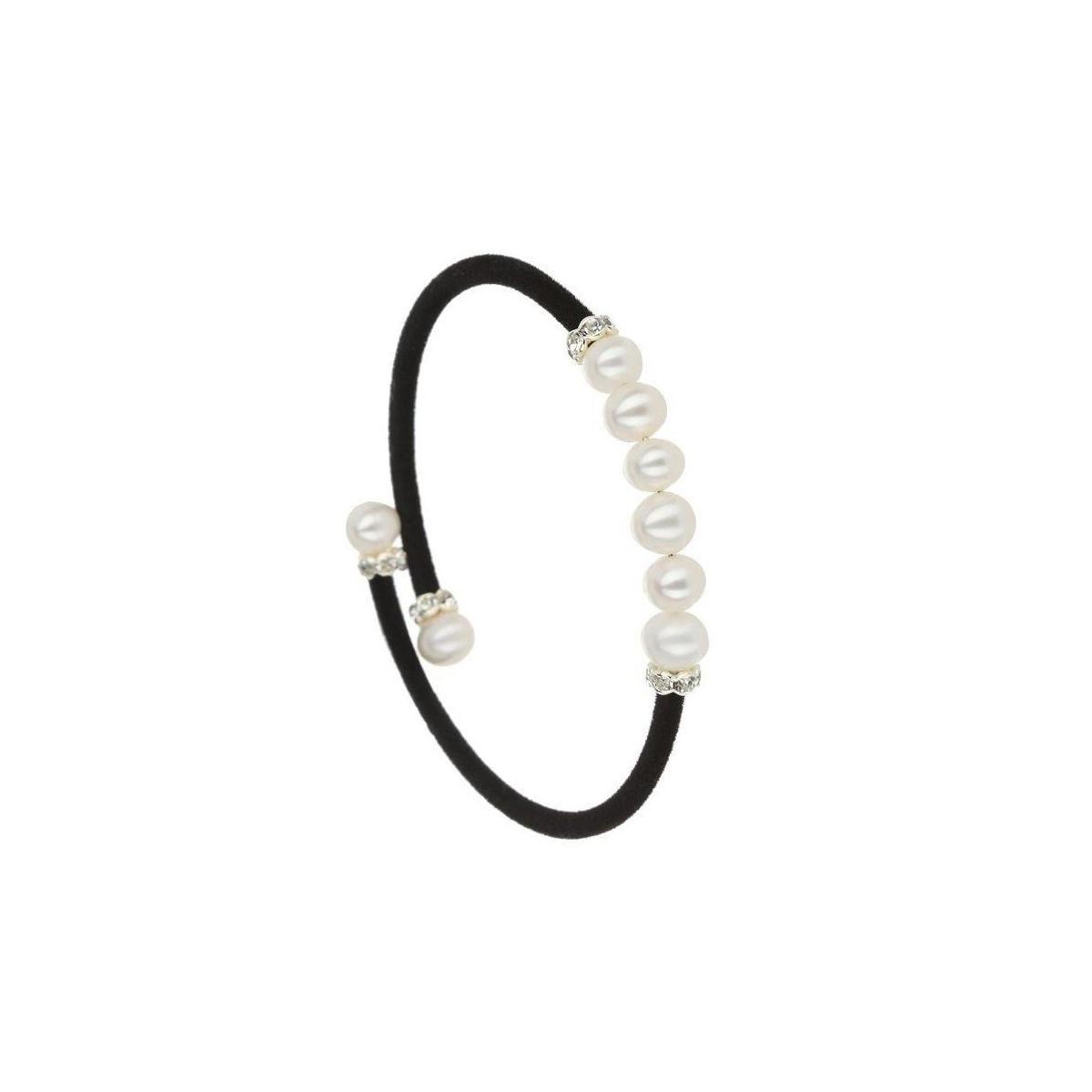 """Bracelet argent et perles de culture blanches """"Magique """""""