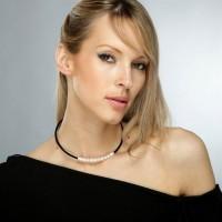 """Collier Perles de culture blanches et oxydes de zirconium """" Magique """""""
