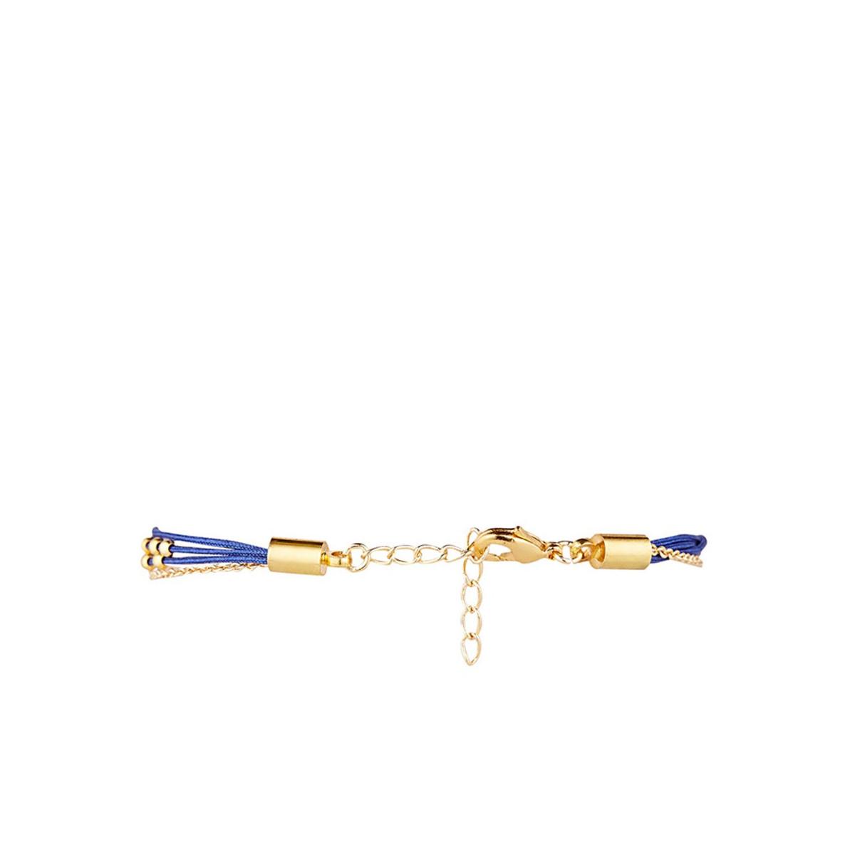 """BLABLABLA"" Bracelet chaine doré à message"