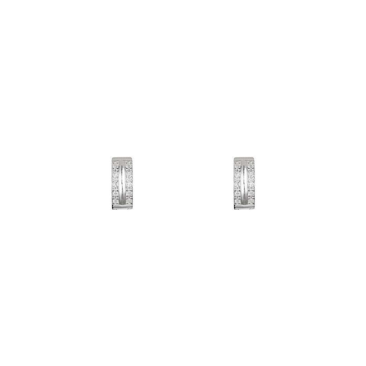 Boucles d'oreilles créolitass en argent 925