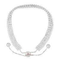 """Bracelet argent et oxydes de zirconium """"Rivière Scintillante 3 Rangs"""""""