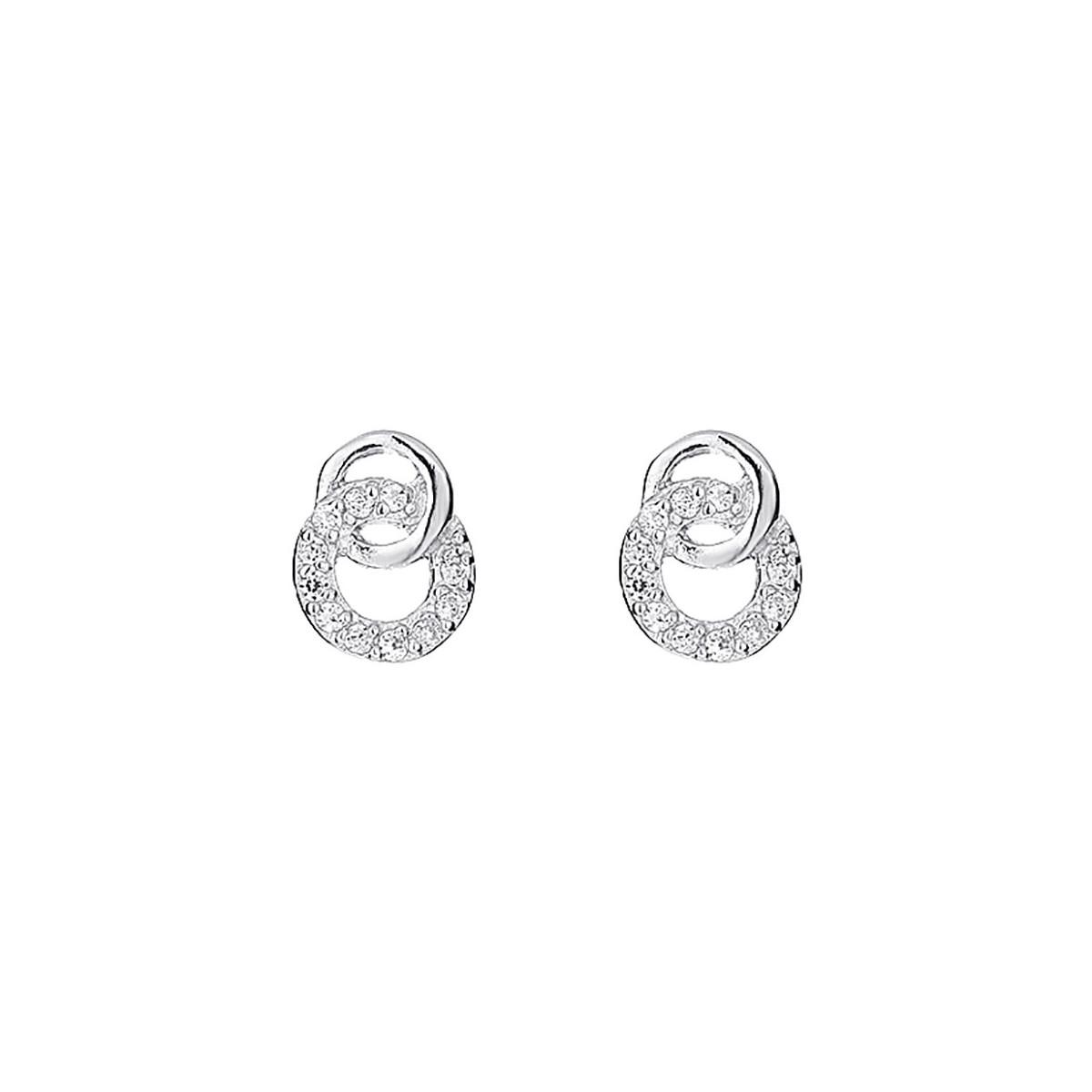 boucles d'oreille argent