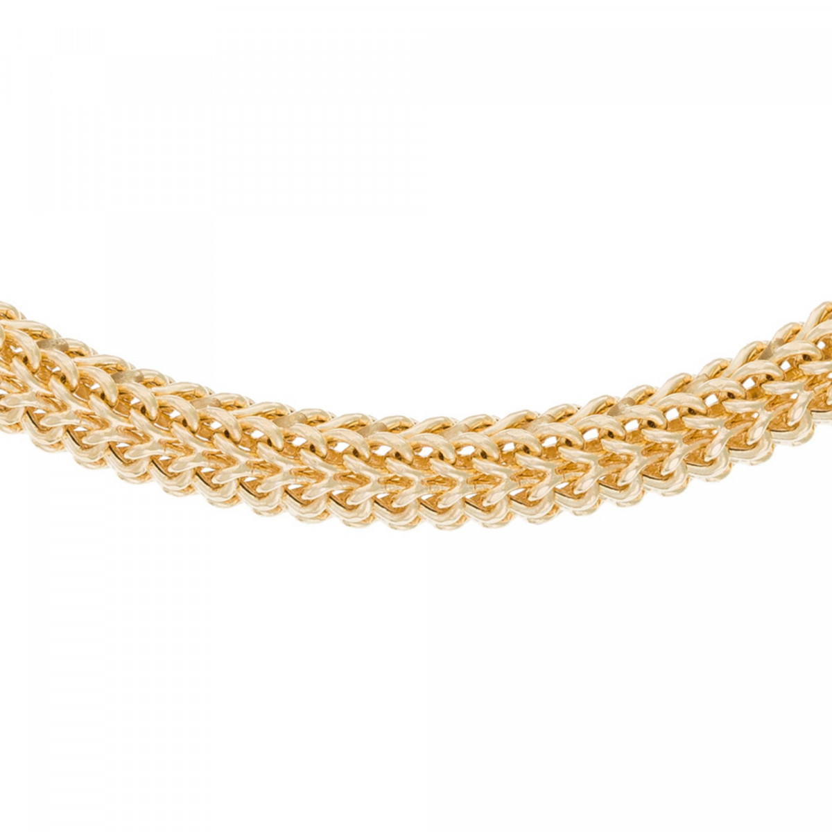 """Bracelet maille Or Jaune """" Maille Tubulaire"""""""