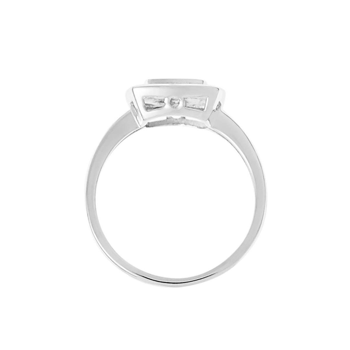 0.15 carat Argent sterling Bague Diamant