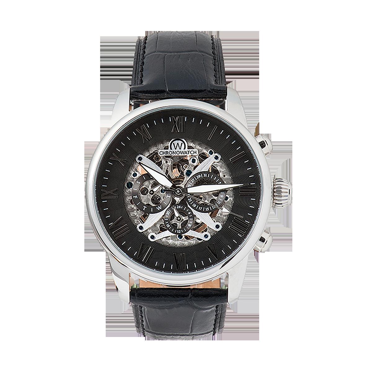 "Montre Chronowatch ""L'ODYSEE"" Bracelet cuir - HA5320CgBC1"