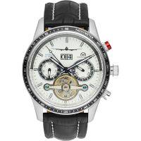 """Montre Chronowatch """"MAK 3"""" bracelet cuir - HB5130C2BC1"""