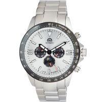 """Montre Chronowatch """"MICROMATIC"""" bracelet métal - HB5160nC2BM1"""