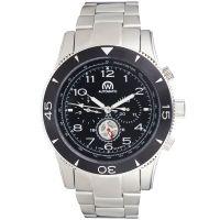 "Montre Chronowatch ""NAVYMATIC"" bracelet métal - HB5170nC1BM1"
