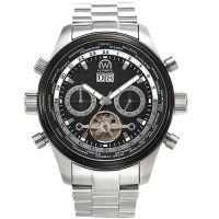 "Montre Chronowatch ""L'HECKLER"" bracelet métal - HF5250C1BM1"