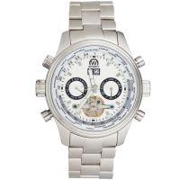 "Montre Chronowatch ""L'HECKLER"" bracelet métal - HF5250C3BM1"