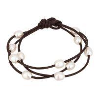 """Bracelet Perles de Culture Blanches """"Apesanteur"""""""