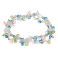 """Bracelet et Perle de Culture Blanches, Roses, Bleues, Vertes """"Aqua"""""""