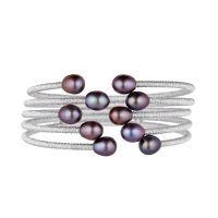 """Bracelet Perles de Culture Noires """"Perlitas Noir"""""""