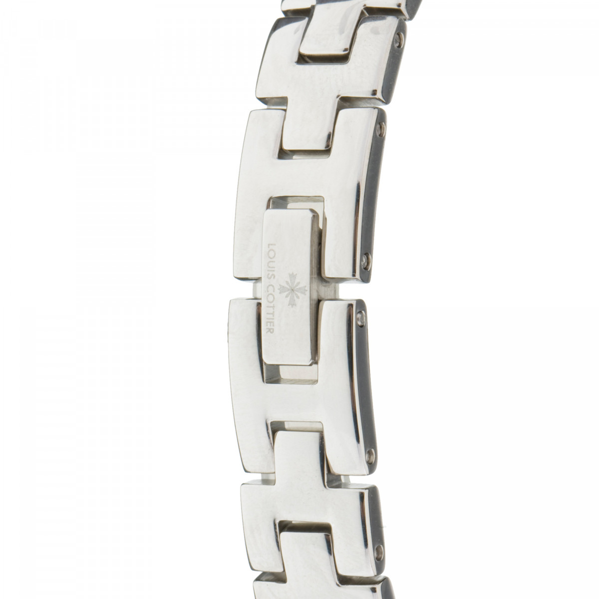 Louis Cottier - Montre Femme ALICE céramique blanc et acier - Boîtier 25 mm - HY3580C3BV4