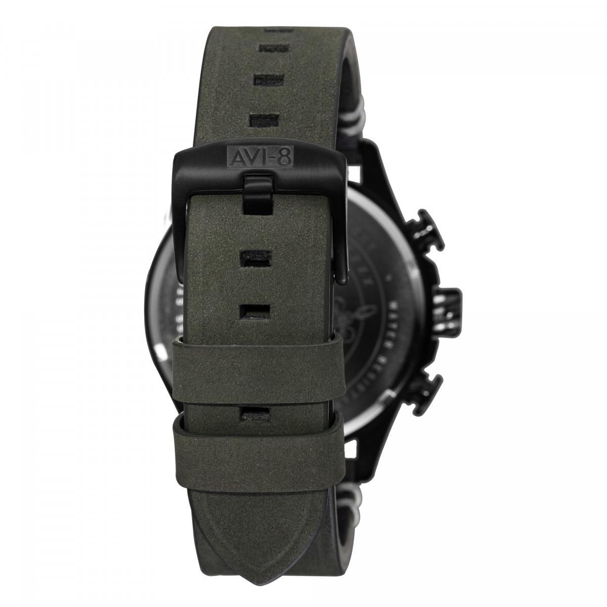 Montre AVI-8 HAWKER HUNTER Quartz Chronograph - AV-4064-02
