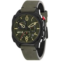 Montre AVI-8 HAWKER HUNTER Quartz Chronograph - AV-4052-08