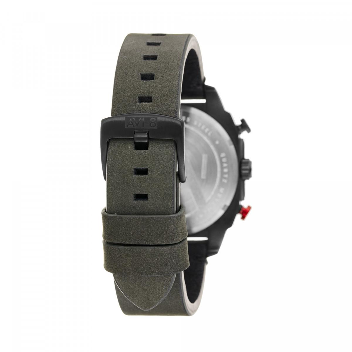 Montre AVI-8 HAWKER HUNTER Quartz Chronograph - AV-4052-08