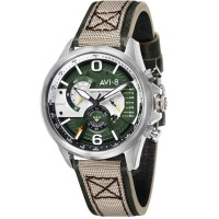 Montre AVI-8 HAWKER HARRIER II Quartz Chronograph - AV-4056-02