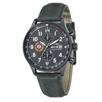 Montre AVI-8 HAWKER HURRICANE Quartz Chronograph - AV-4011-0D