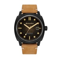 Montre Spinnaker HULL Automatique  - Cadran Noir - SP-5059-04