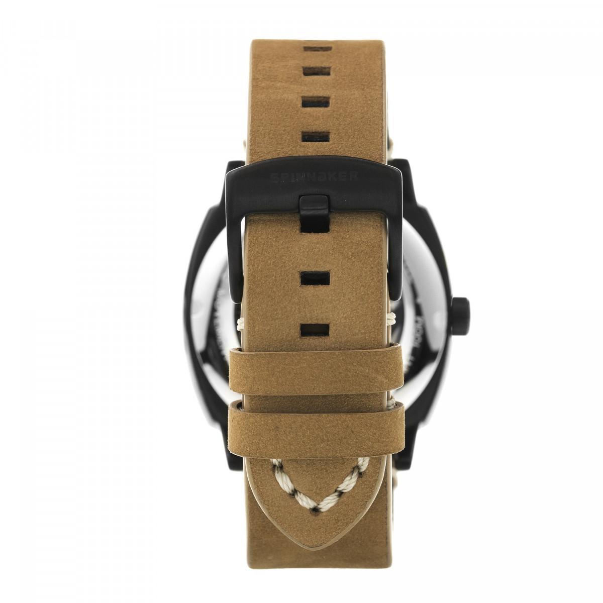 Montre Spinnaker HULL Automatique  - Cadran Noir - SP-5059-04