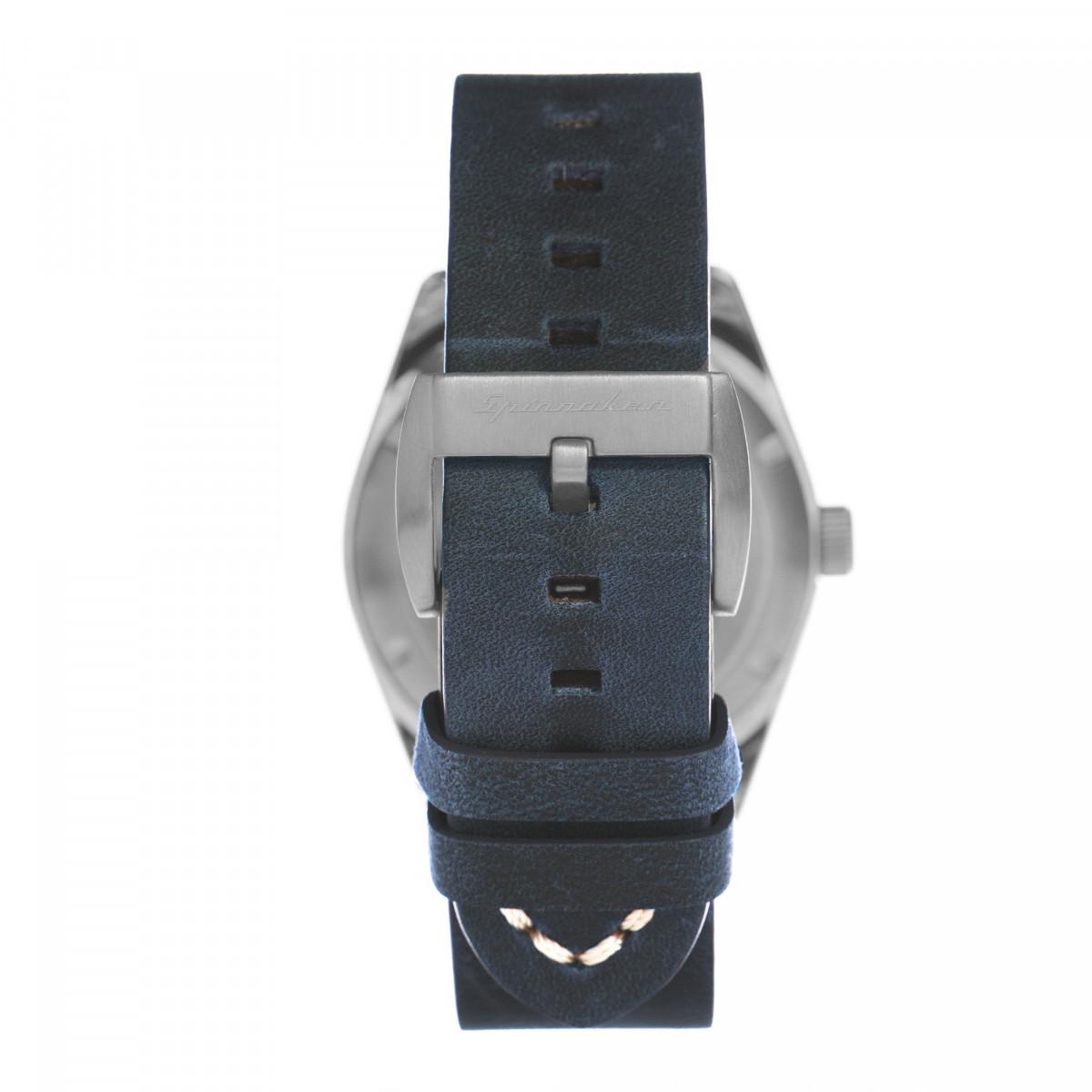 Montre Spinnaker CROFT Automatique  - Cadran Bleu - SP-5058-01