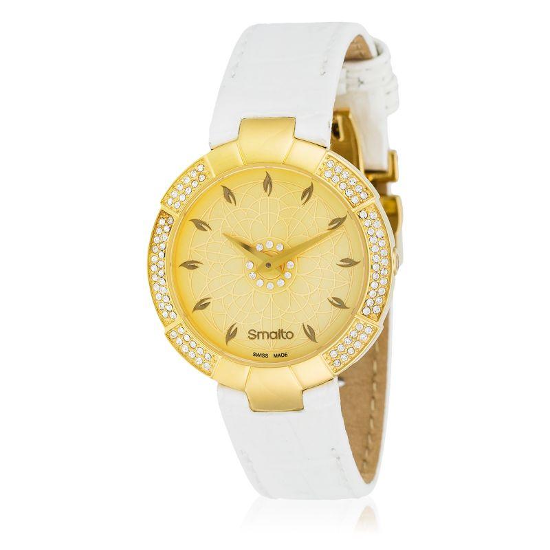 e7b60fd3f6 Montre Smalto Homme VIOLA - SNML42CDBC0 bracelet cuir   Mes-bijoux.fr