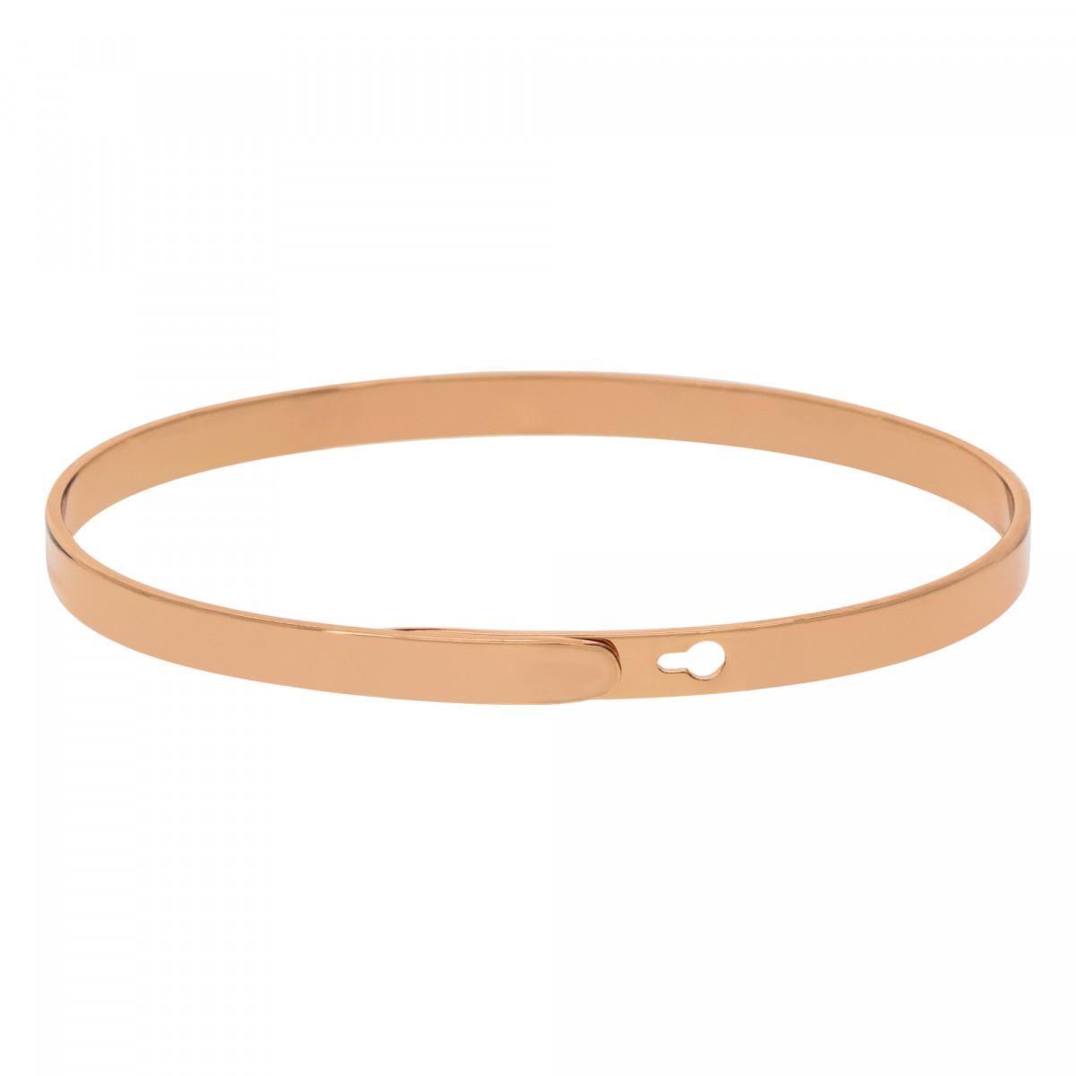 """""""MAMAN SUBLIME"""" bracelet jonc rosé à message"""