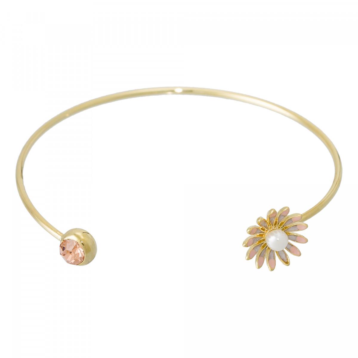 "Bracelet ""Aster du Bonheur"" Doré"