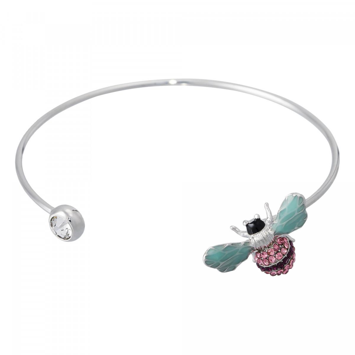 """Bracelet """"Petite Abeille"""" Argenté"""