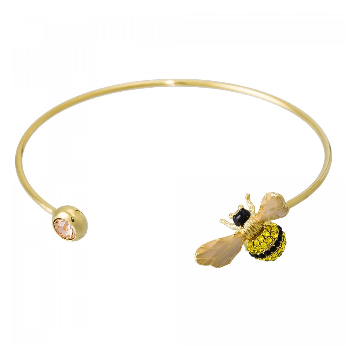 """Bracelet """"Petite Abeille"""" Doré"""