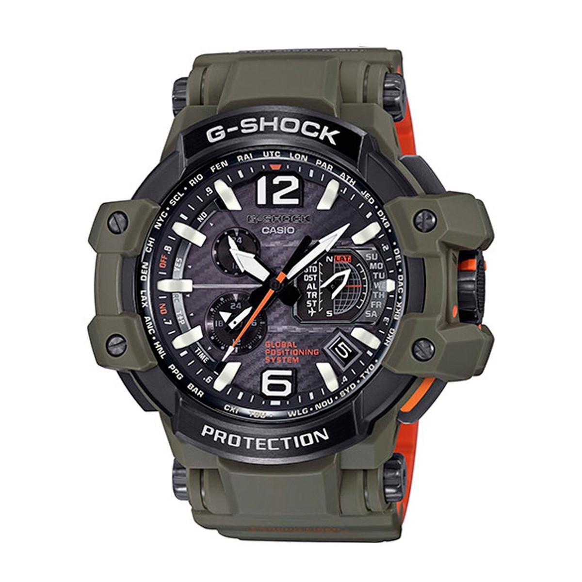 Montre CASIO G-SHOCK GPS Hybrid Wave Ceptor - GPW-1000KH-3AER