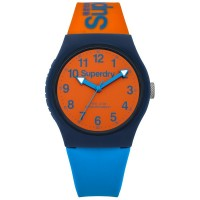 Montre unisexe Superdry Urban SYG164MO Cadran Orange