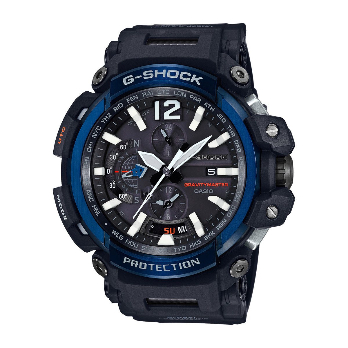 Montre Homme CASIO G-SHOCK GravityMaster - GPW-2000-1A2ER