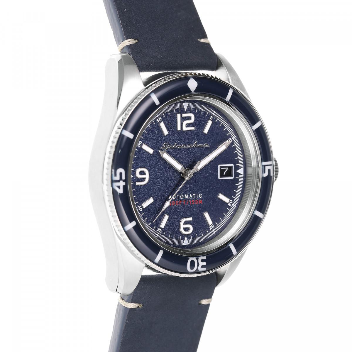 Montre Spinnaker FLEUSS Automatique  - Cadran Bleu - SP-5055-03